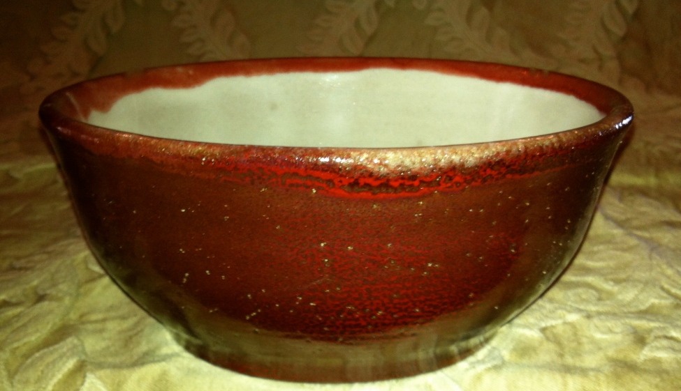 This mornings reveal gave me this lovely new red on earthenware ^04