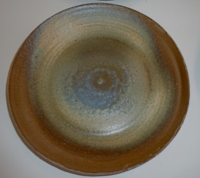 "Set of 6@6"" plates.  Cone 6 reduction.  Stoneware.  Microwave and dishwasher safe."